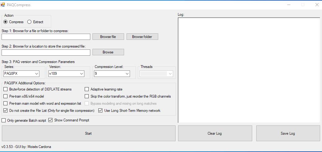 PAQCompress v0.3.53