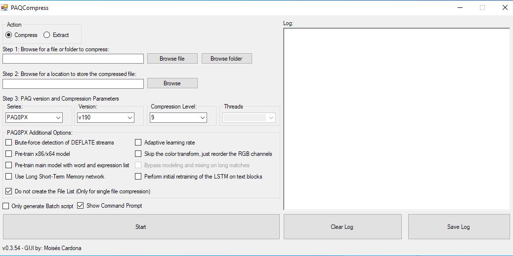 PAQCompress v0.3.54
