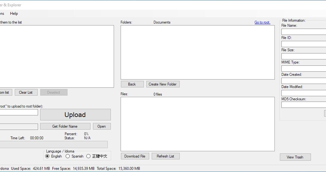 Google Drive Uploader & Explorer Tool v1.14 (English)