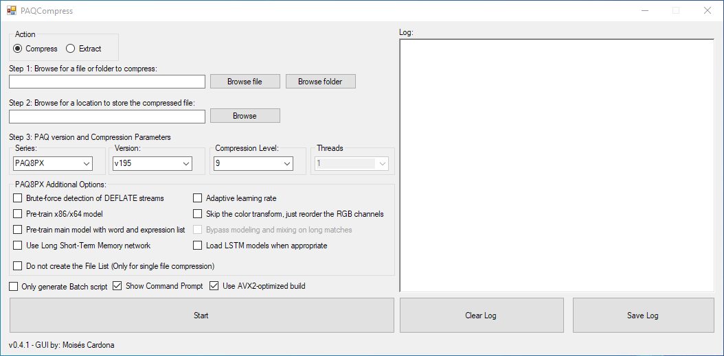 PAQCompress v0.4.1