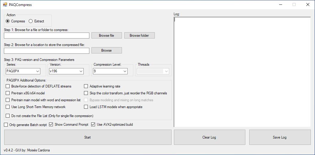PAQCompress v0.4.2