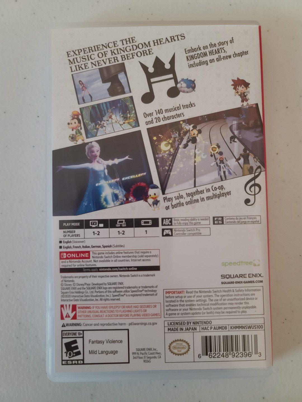 Kingdom Hearts: Melody of Memory 2