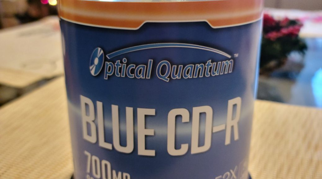 Optical Quantum Printable Blue CD-R 1