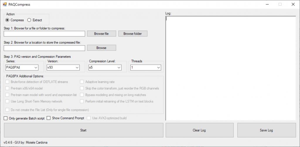 PAQCompress v0.4.6