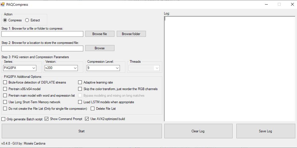 PAQCompress v0.4.8