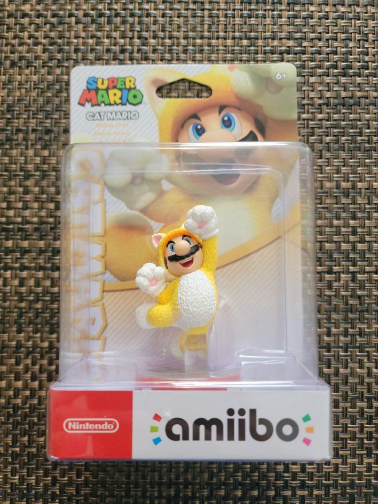 Cat Mario Amiibo 1