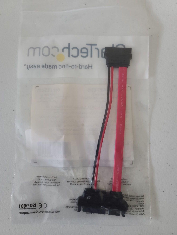 Startech SATA to Slim SATA Adapter 1