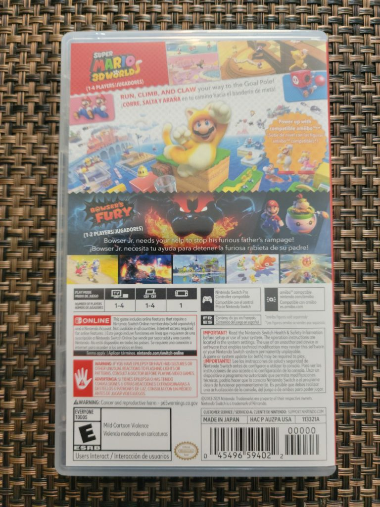 Super Mario 3D World + Bowser's Fury 2