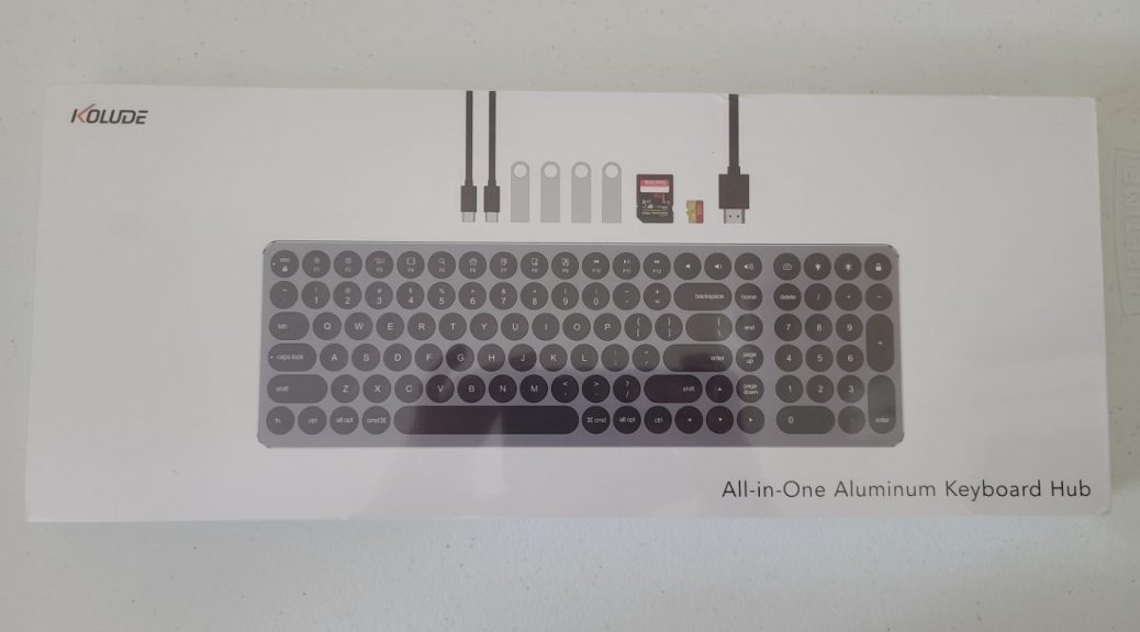 Kolude KD-k1 All-In-One Keyboard 1
