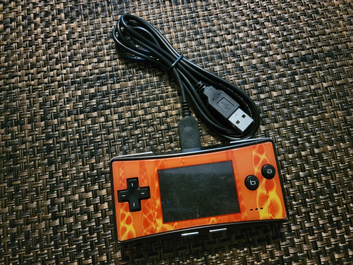 Cuziss USB Power Supply Charger Cable Cord Compatible for Nintendo GBM Game Boy Micro Console 3