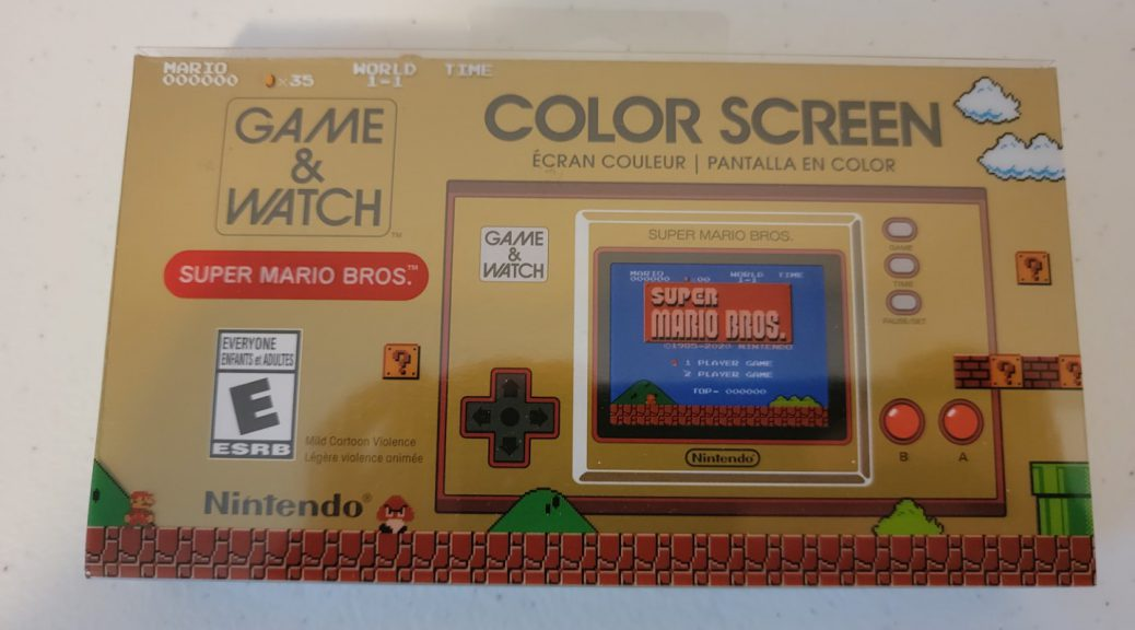Game & Watch: Super Mario Bros. 1