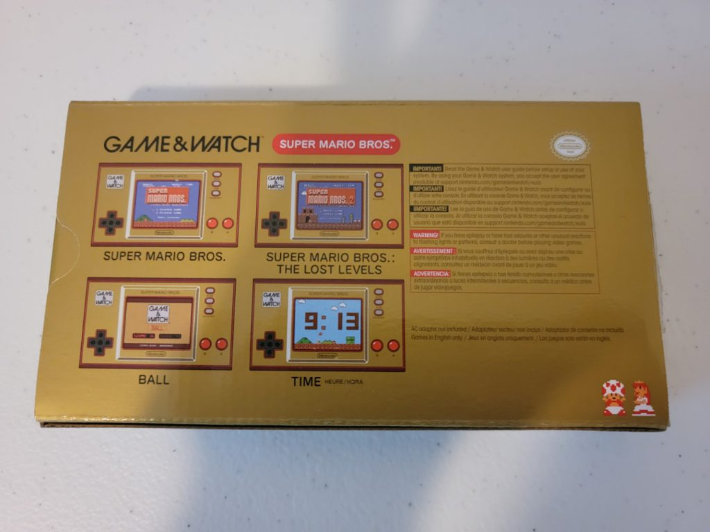 Game & Watch: Super Mario Bros. 4