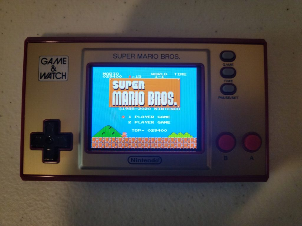 Game & Watch: Super Mario Bros. 9