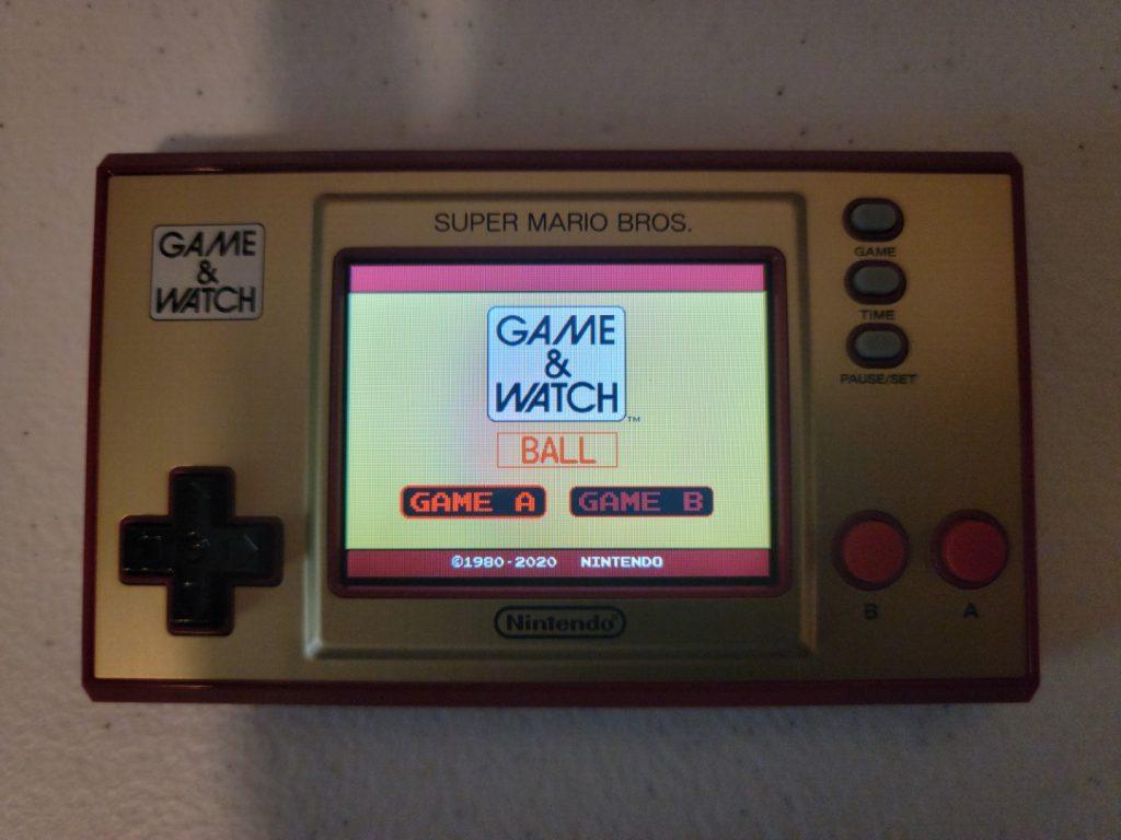 Game & Watch: Super Mario Bros. 11