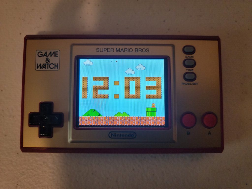Game & Watch: Super Mario Bros. 12