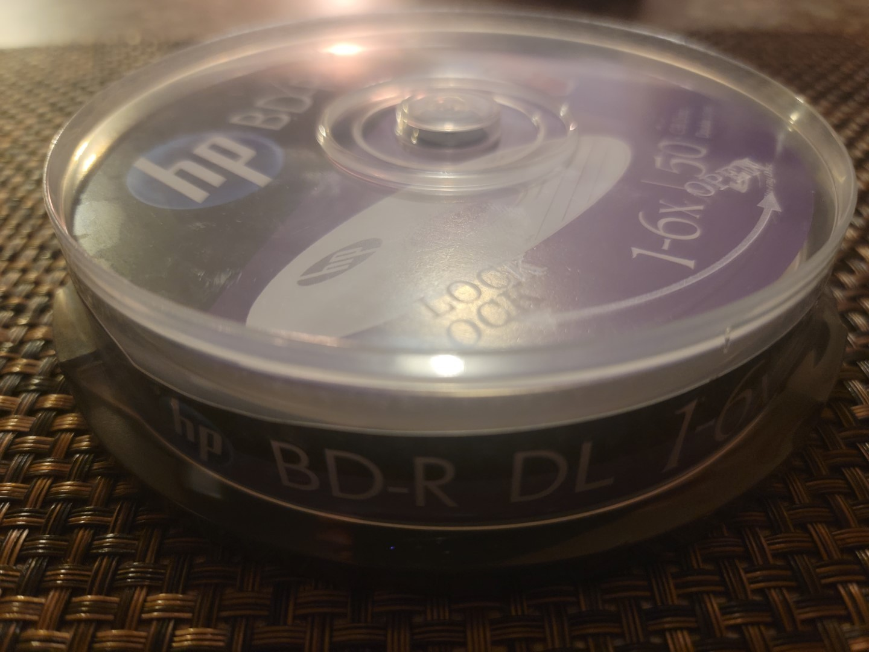 HP BD-R DL 10pk 3