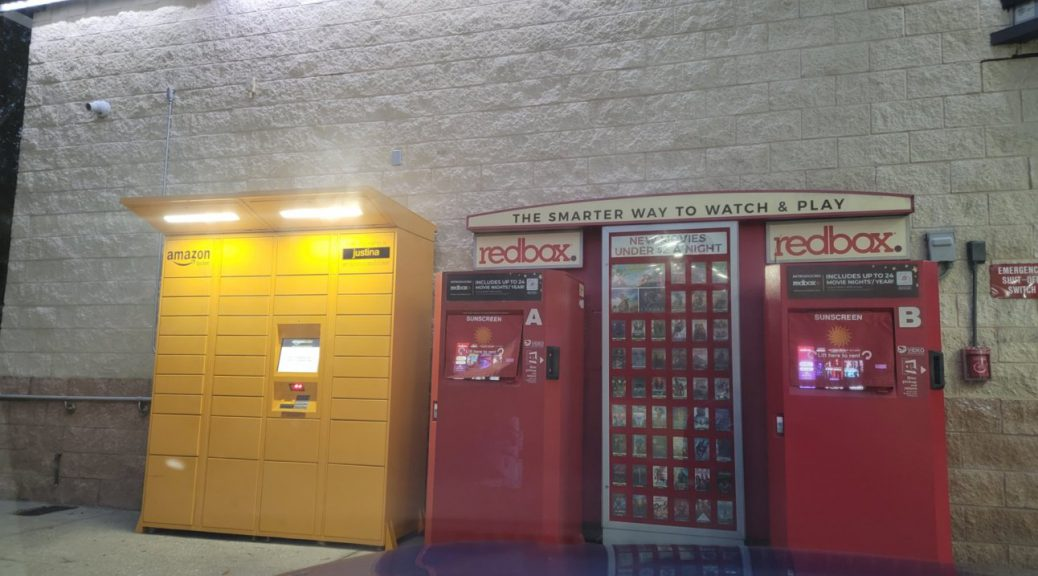 Redbox at a 7-Eleven in Tampa