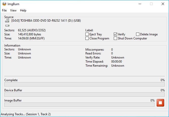 Verbatim CD-RW 12x 3