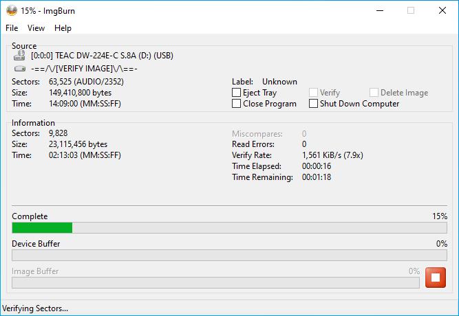 Verbatim CD-RW 12x 8