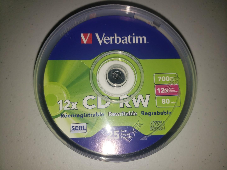 Verbatim CD-RW 1