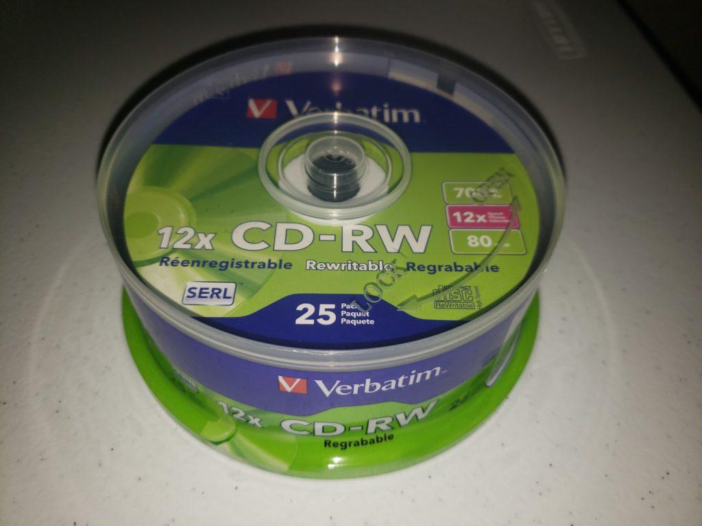 Verbatim CD-RW 2