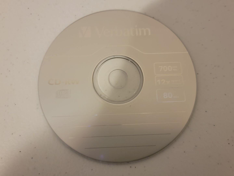 Verbatim CD-RW 5