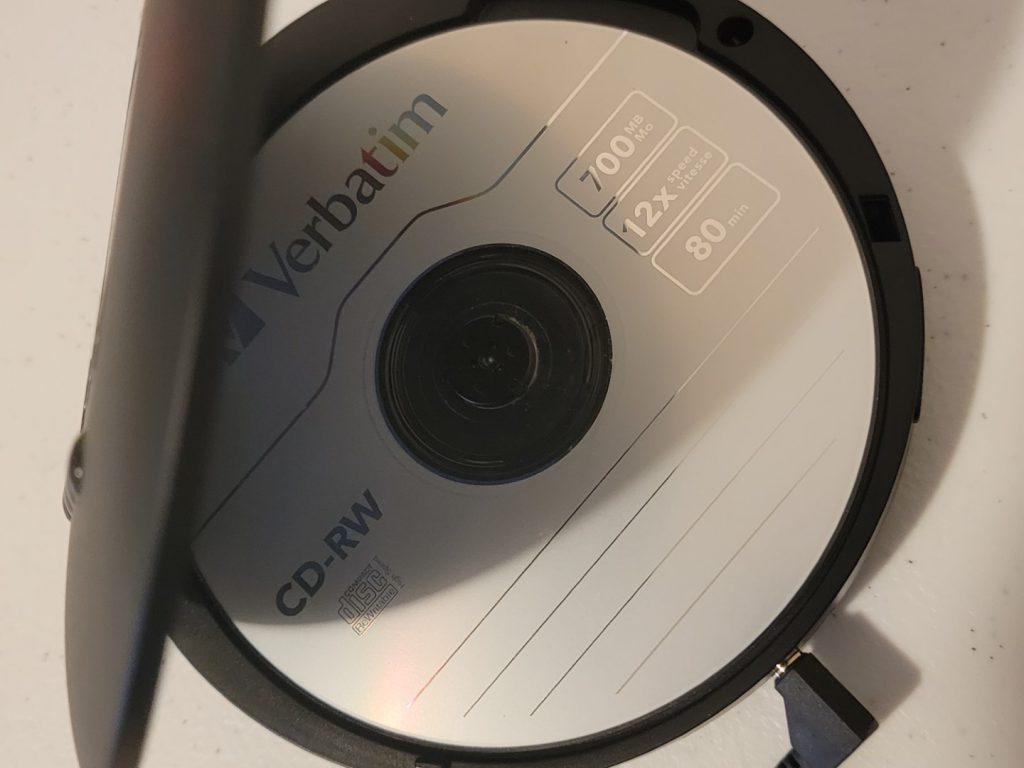 Verbatim CD-RW 8