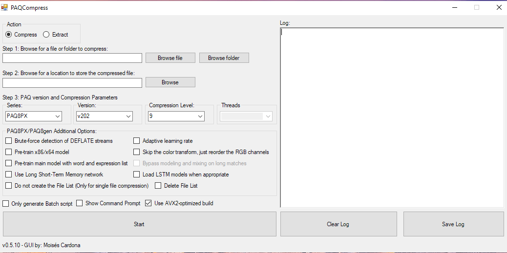 PAQCompress v0.5.10