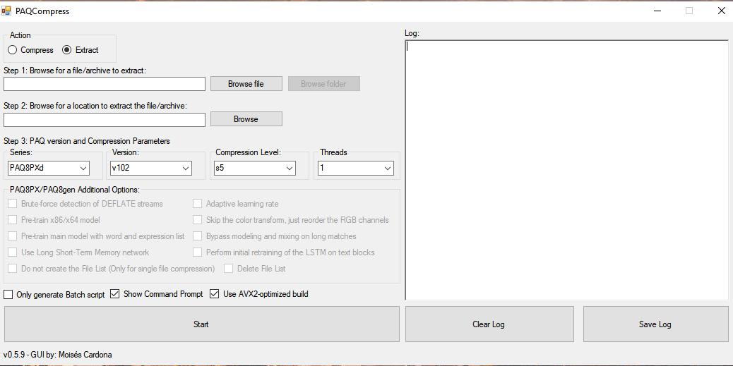PAQCompress v0.5.9
