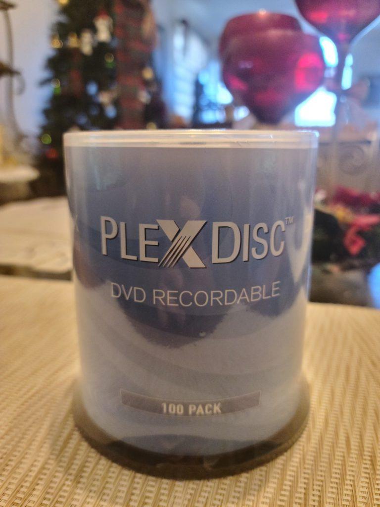 PlexDisc DVD+R 100pk 1