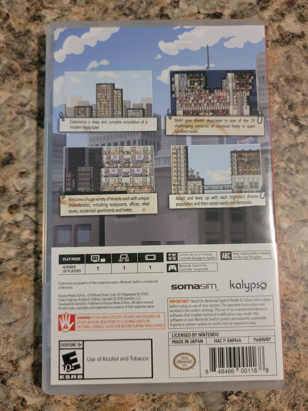 Project Highrise Architect's Edition Nintendo Switch 2