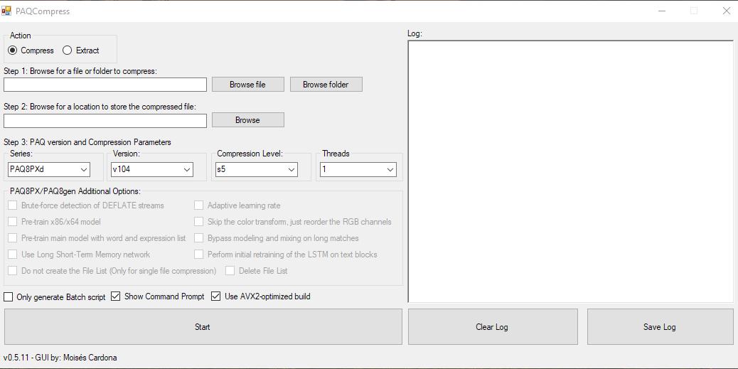 PAQCompress v0.5.11