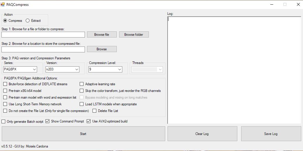 PAQCompress v0.5.12