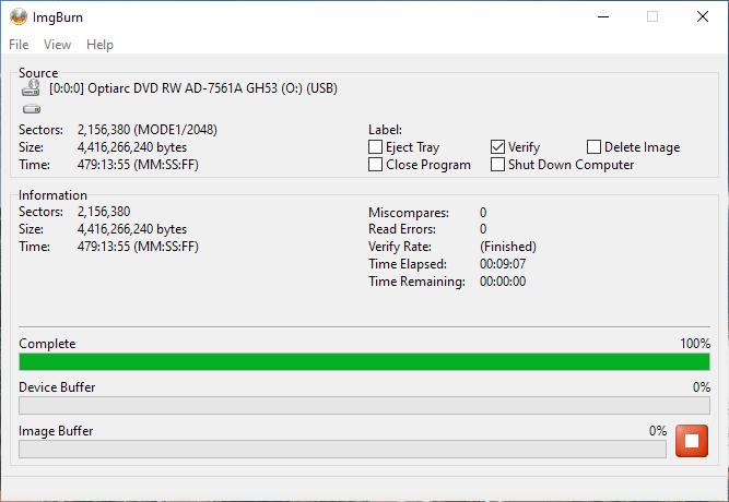 PlexDisc OPTODISC-R16-00 Optiarc AD-7561A 4x 2