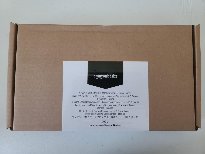 AmazonBasics 6-Outlet Power Strip 1
