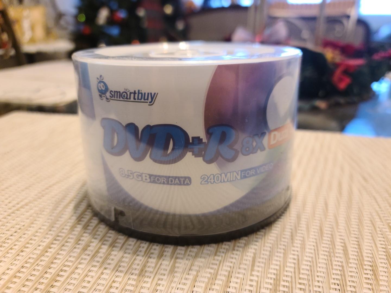 SmartBuy DVD+R DL 1