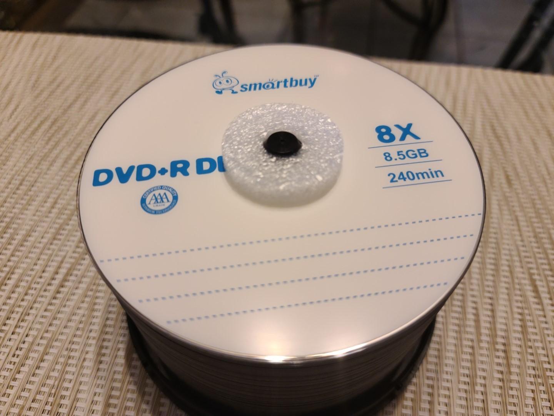 SmartBuy DVD+R DL 4
