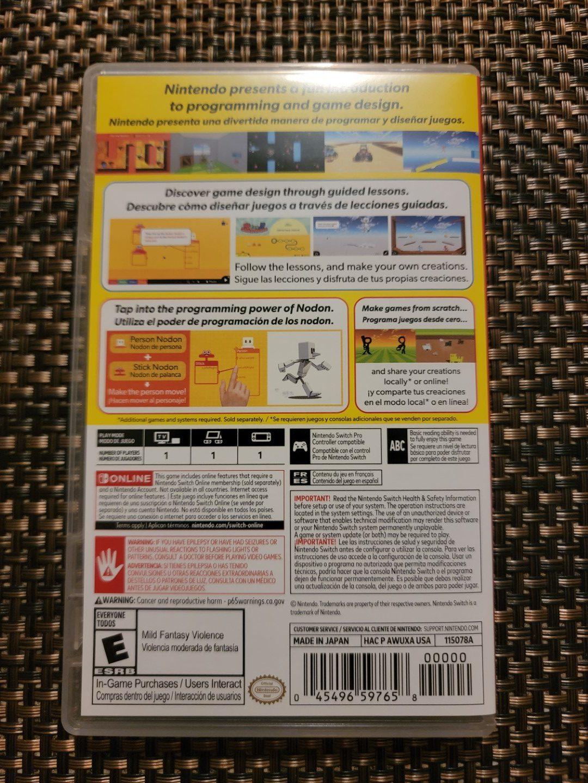 Game Builder Garage Nintendo Switch 2