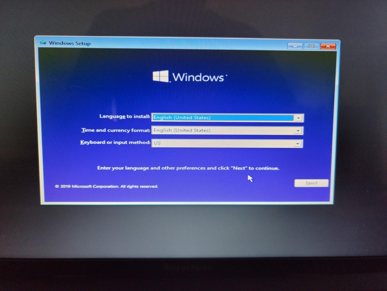 Installing Windows 11 Part 2 3