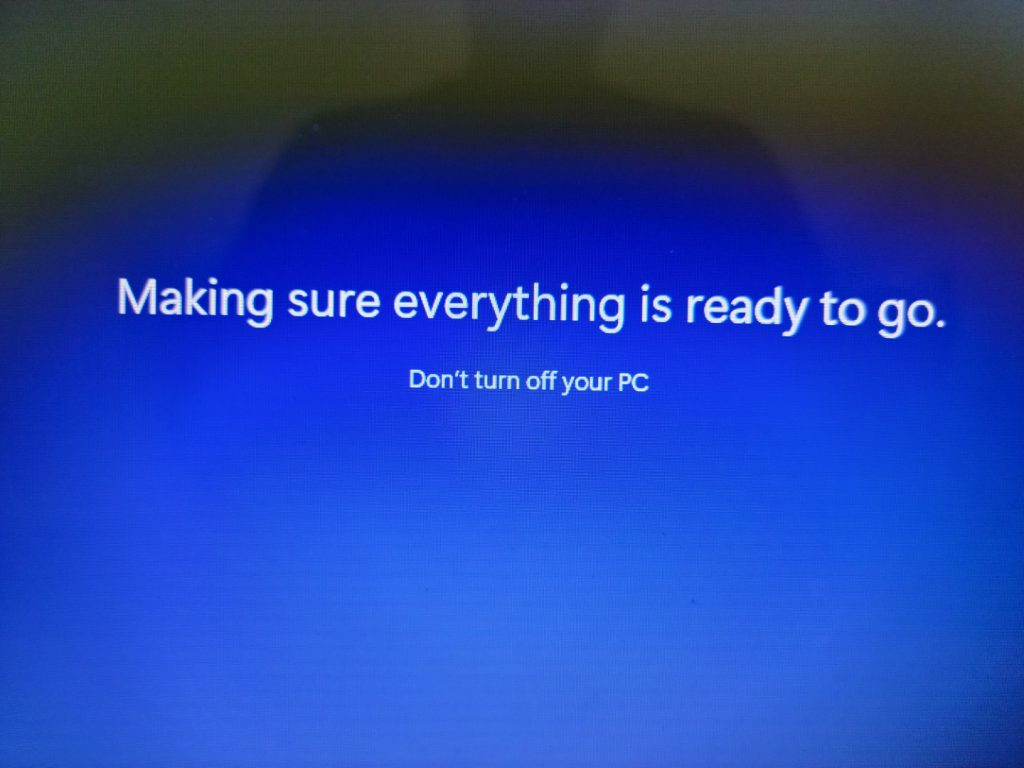 Installing Windows 11 Part 2 48