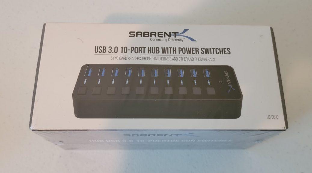 Sabrent 10-Port USB 3.0 Hub 1