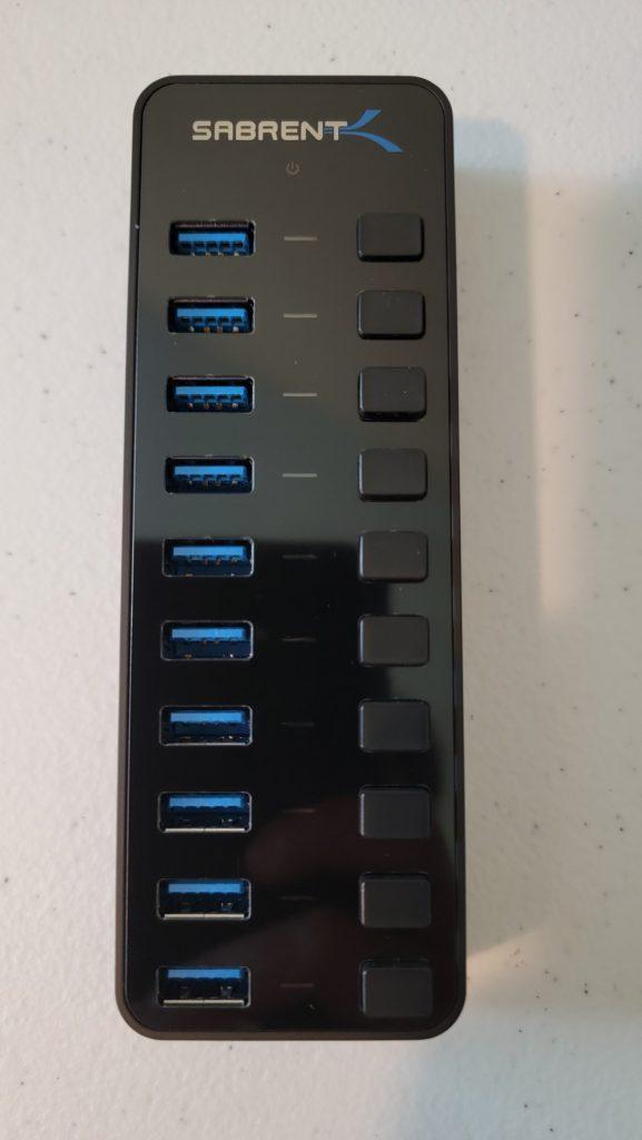 Sabrent 10-Port USB 3.0 Hub 11