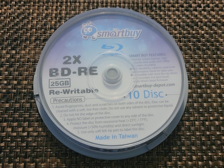 SmartBuy BD-RE 25GB RITEK-BW1-001 1