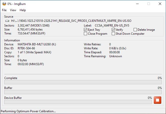 Smartbuy DVD+R DL RITEK-S04-66 Panasonic UJ-260 Burning 2