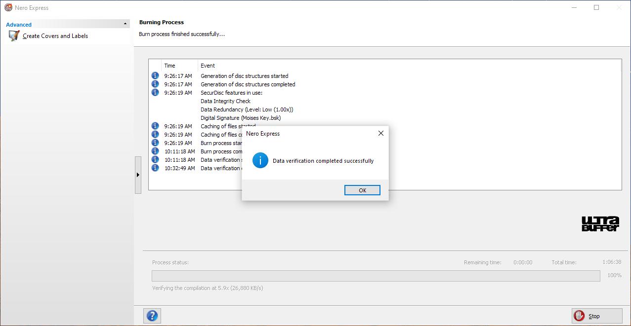 ValueDisc BD-R 25GB Nero Panasonic UJ260 6