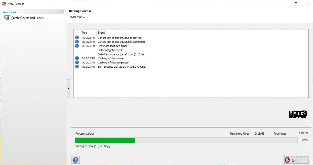 ValueDisc BD-R 25GB Nero Panasonic UJ260 6x 2