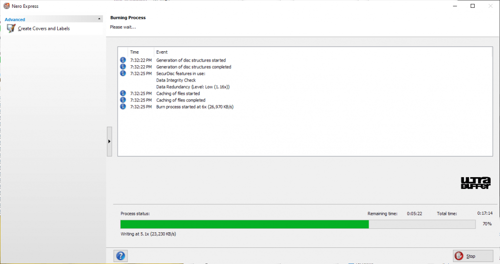 ValueDisc BD-R 25GB Nero Panasonic UJ260 6x 3