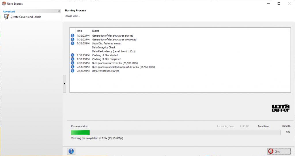 ValueDisc BD-R 25GB Nero Panasonic UJ260 6x 5
