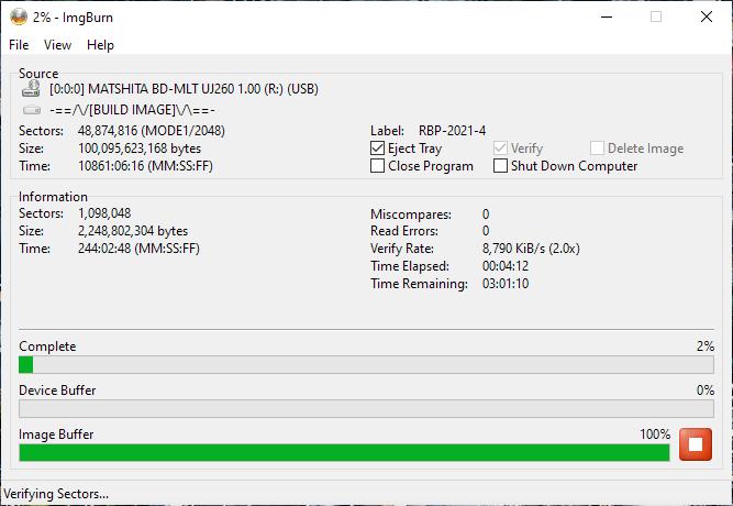 Verbatim VERBAT-IMk-000 Panasonic UJ-260 11