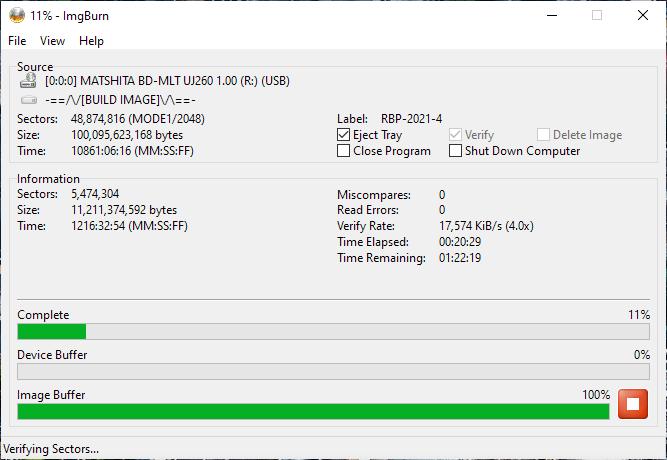 Verbatim VERBAT-IMk-000 Panasonic UJ-260 12